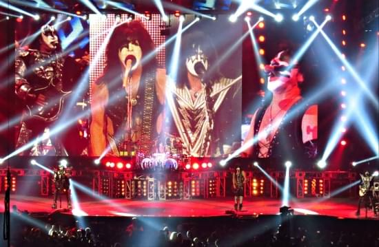 Struggling rock band KISS needs to take any gig that comes down the pipe.