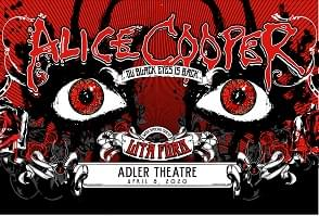 *POSTPONED* Alice Cooper with Special Guest Lita Ford