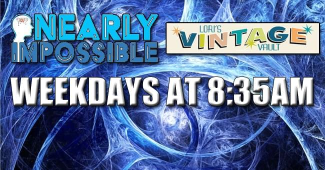 NEARLY IMPOSSIBLE TRIVIA – 12/2/19