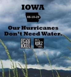 Derecho:  Been There, Done That, Get the T-Shirt & Help Fellow Iowans