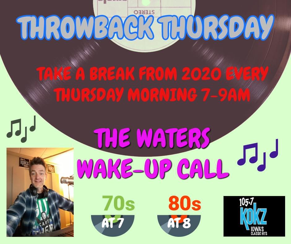 Throwback Thursday 10-15-2020