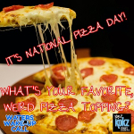 IT'S NATIONAL PIZZA DAY!!