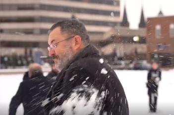 wausau snow ball fight