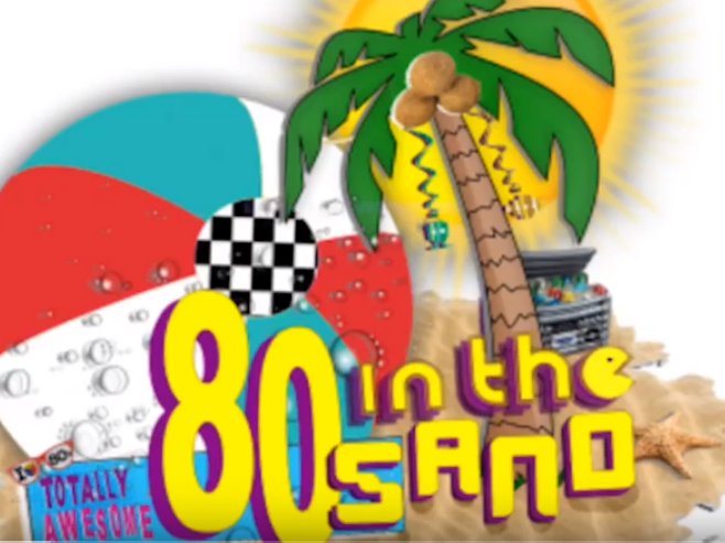 80's in the sand