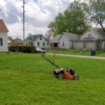 Lawn Mowing Hack