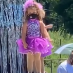 "Watch This Little Girl ""Not"" Dance at Her Dance Recital"