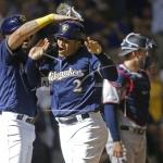 Rookie Grisham Hits Game-Winning Homer, Brewers Edge Twins 6-5