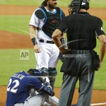 Brewers Edge Marlins 4-3, But Lose Christian Yelich with Broken Kneecap