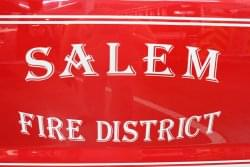 Salem man burned in face when starting recreational fire