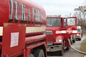 Fire Destroys Tractor in Rural Iuka