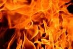 Grass fire blamed for melting siding on rural Dix home
