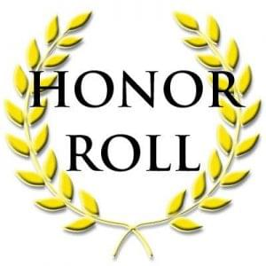 Central City 1st Quarter Honor Roll
