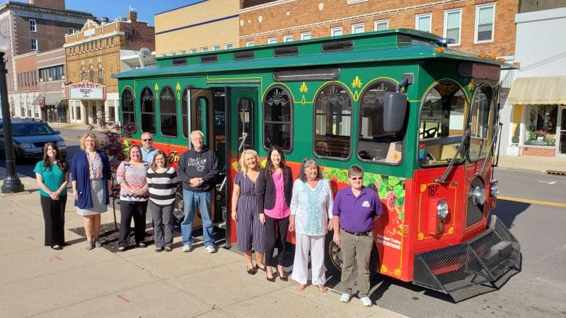 Centralia's Trolley is delivered