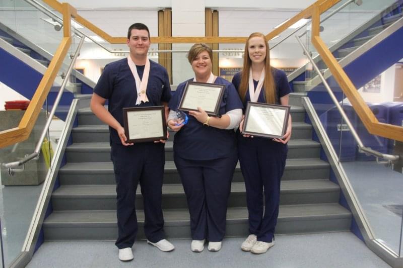 Alpha Delta Nu Nursing Society Induction