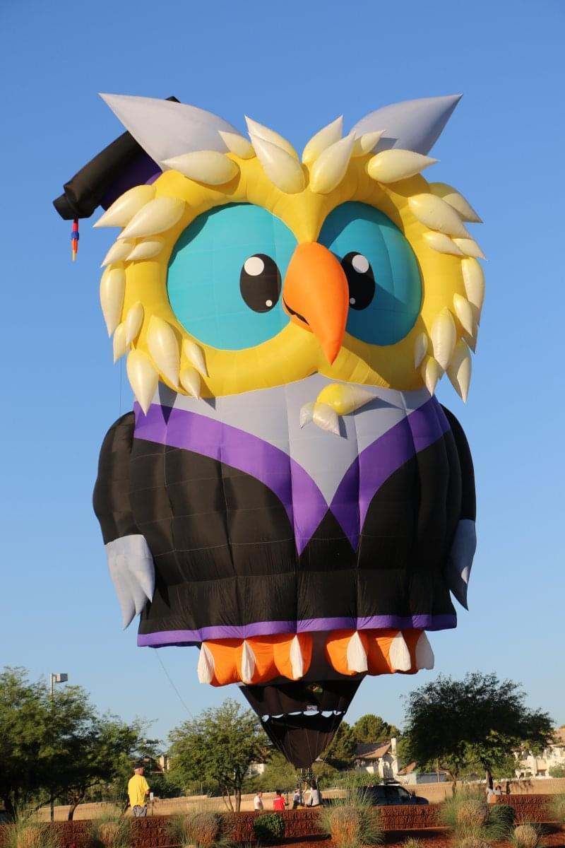 Owlbert Eyenstein Joins The 30th Annual Balloon Fest Lineup