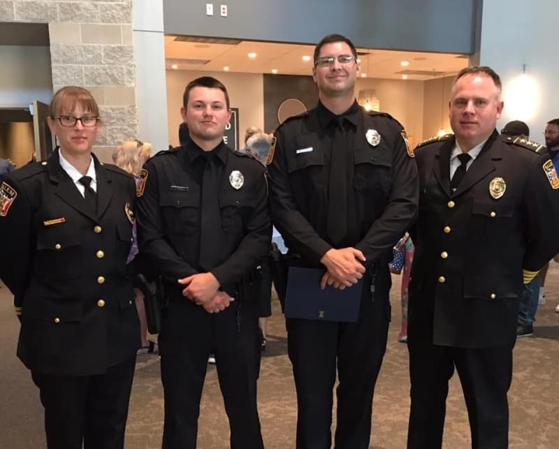 Salem Police Department back to full strength with graduation of two new officers
