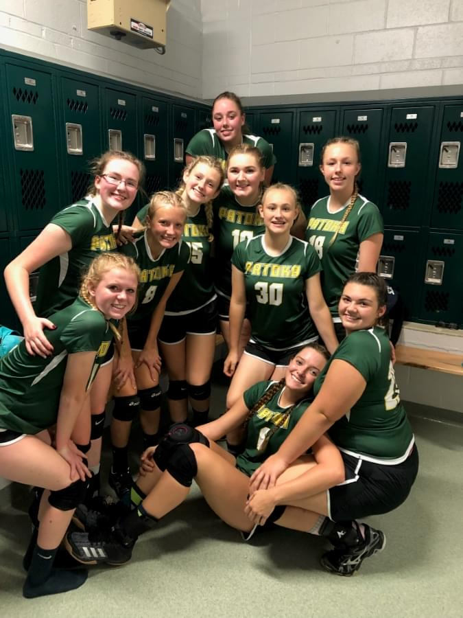 Patoka Beats SC In Prep Volleyball…..KC Sweeps Tri Match