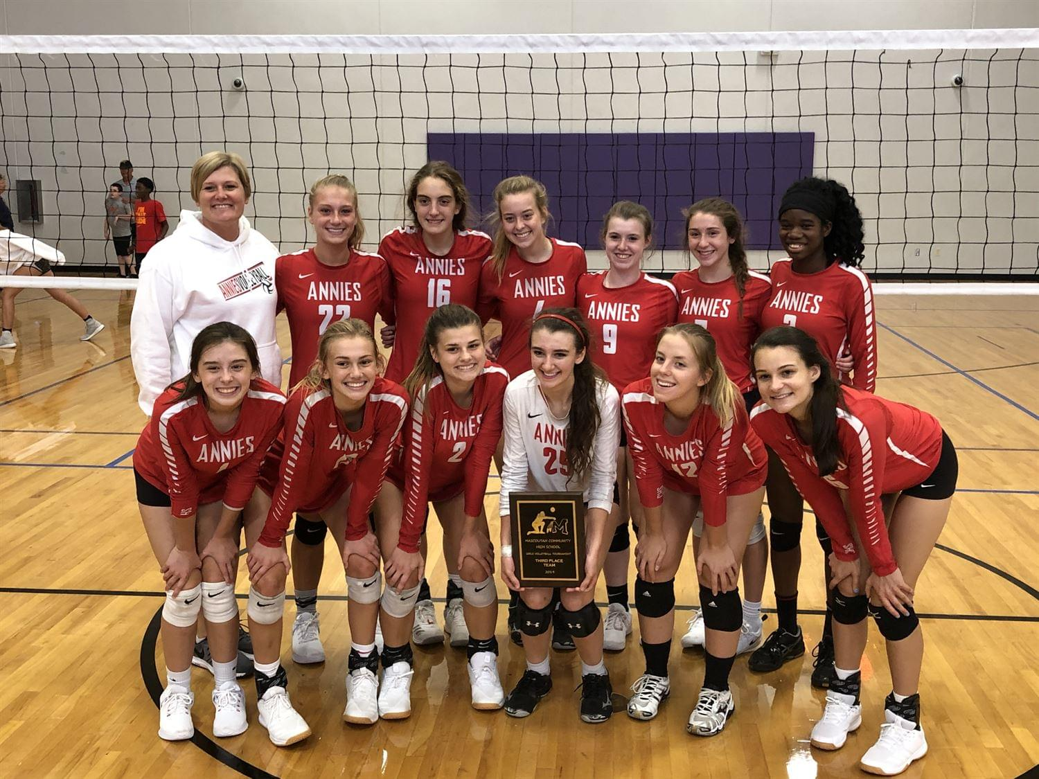 Annies Take On Waterloo For Sectional Volleyball Title Tonight Wjbd Fm