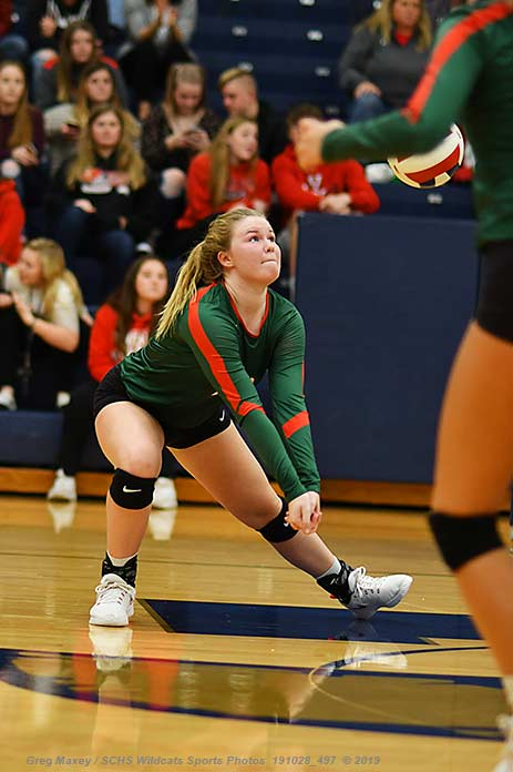 Malia Harris Named To Cahokia All Conference Volleyball Team