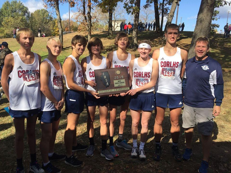The prep state cross country meet will be held today