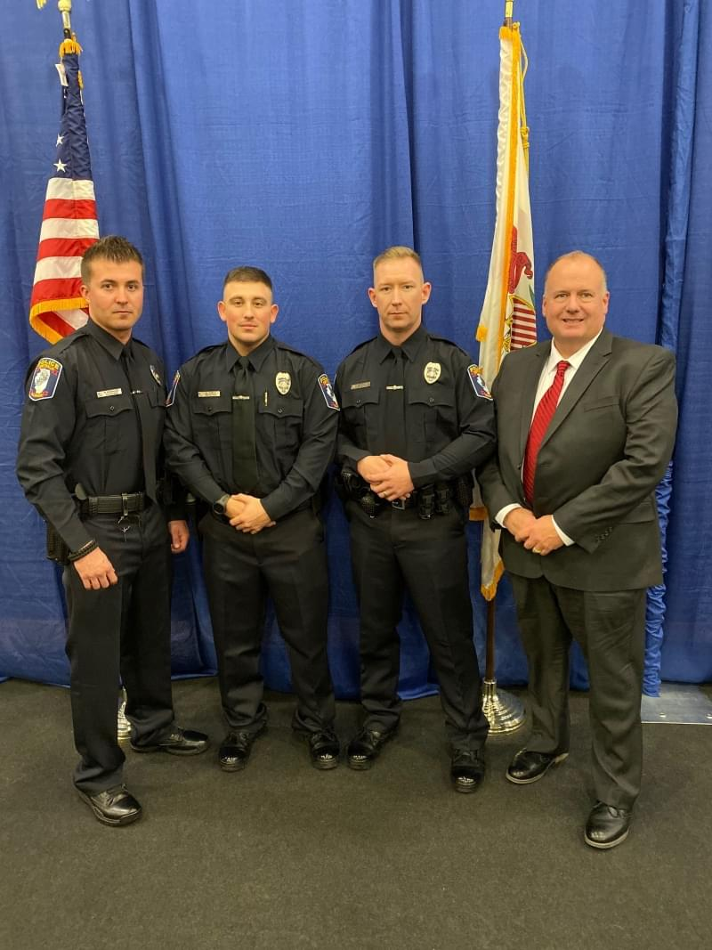 Three new Centralia Police Officers complete academy