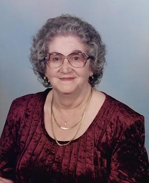 2020 01/08 – Peggy Lou Crider