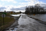 South Central Illinois gets renewed flooding, but avoids most of winter storm