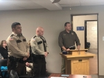 Two Jefferson County Sheriff's officials honored with Life Saving Award while others are honored as officers of the year