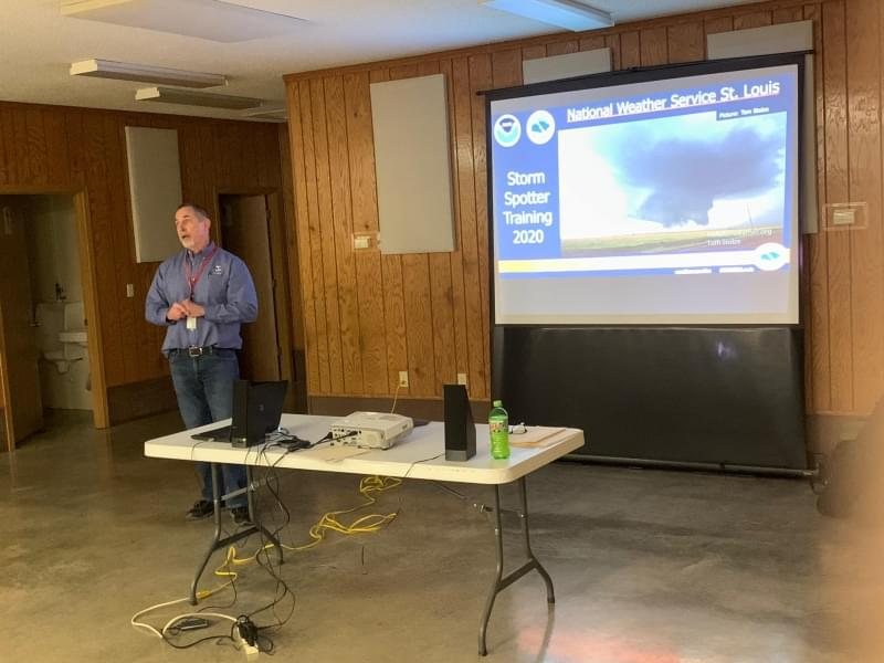National Weather Service explains severe weather at Spotter Class in Salem
