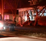 Centralia house fire confined to small area on front porch