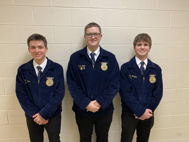 South Central FFA Press Release Section 19 State Degree/Star Greenhand Interviews