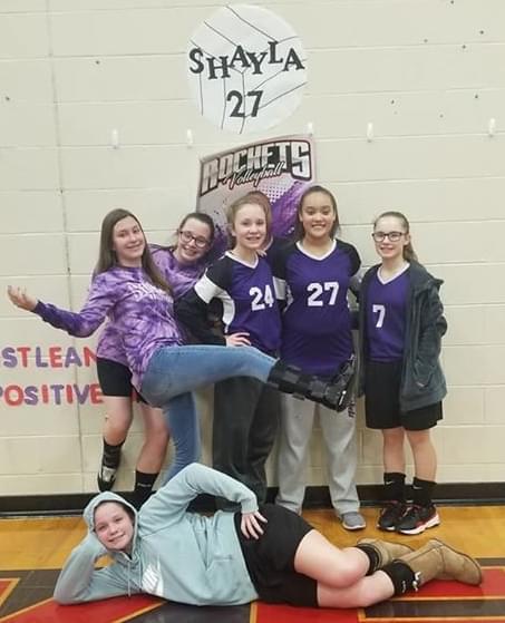 Selmaville Finishes Season With Win On 8th Grade Night