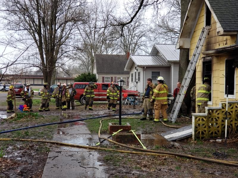 Centralia home destroyed in what appears to be arson fire and burglary