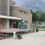 SCHS Diploma handout before rain