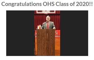 Odin High School and Junior High virtual graduation held Saturday