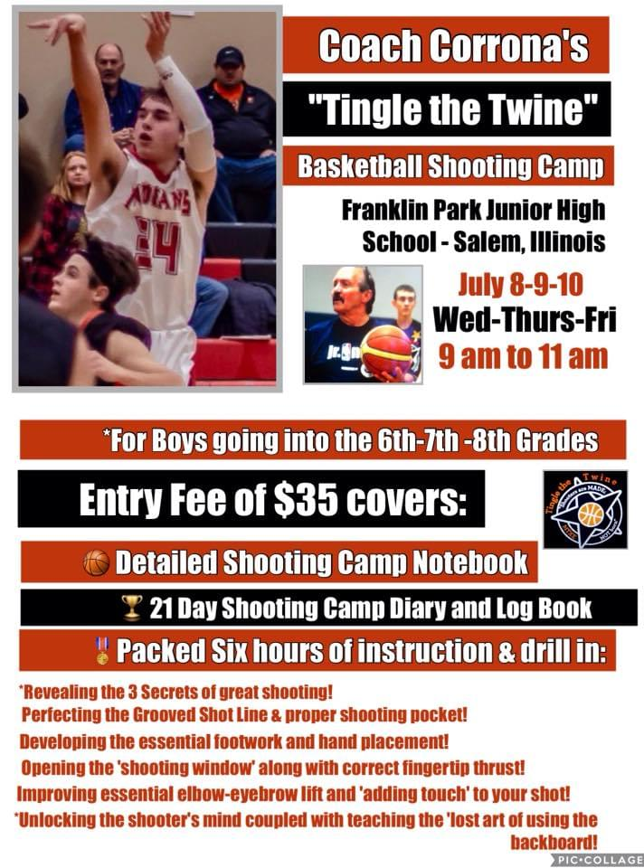 Franklin Park Hosts Shooting Camp July 8-9-10