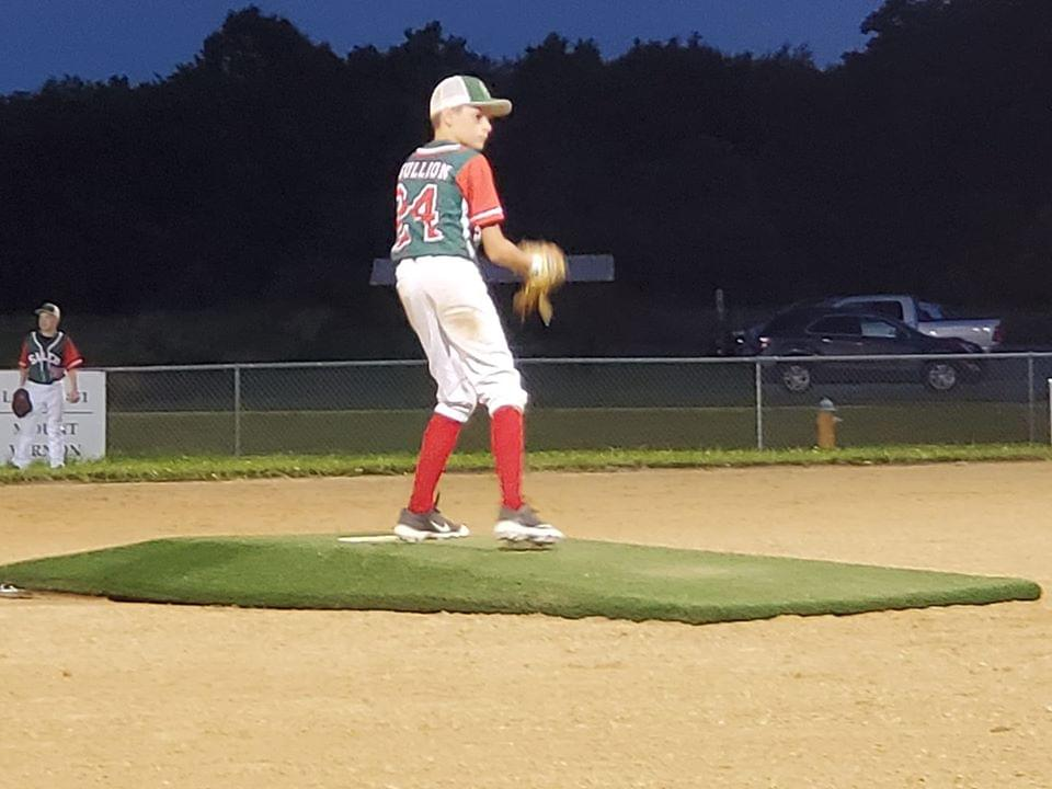 Salem 11u Splits DH With Mt Vernon Getting Stellar Relief From Gullion & Timely Hitting Late
