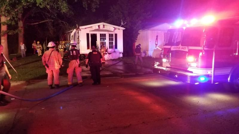 Salem Fire Marshal believes fire in vacant mobile home was set