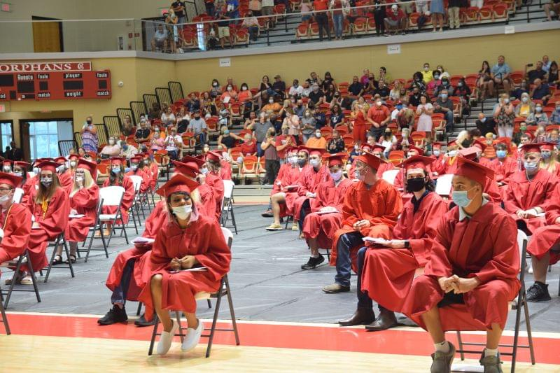 Centralia High School in-person graduation