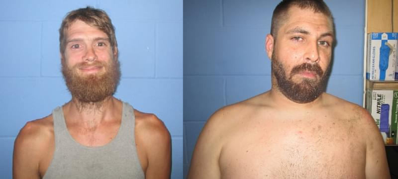 Two face weapons charges following weekend gunshots