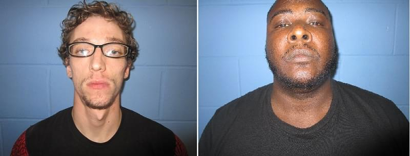 Two face charges following separate weekend chases