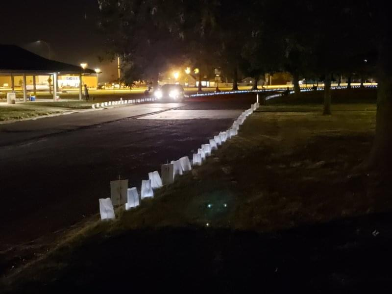 Marion County Relay for Life-Centralia holds Drive Through Luminaria Ceremony
