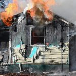 Two people burned when propane wall heater explodes, destroys Raccoon Lake Cabin