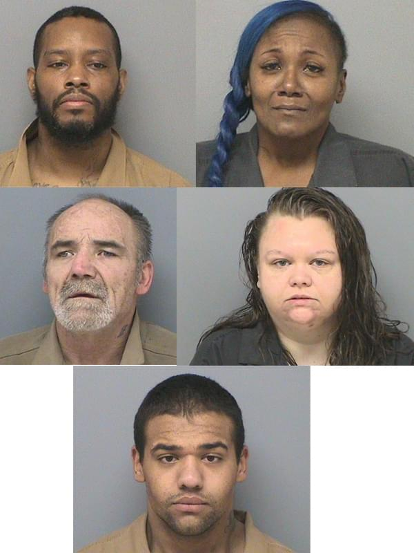 Two drug raids in Mt. Vernon lead to five arrests