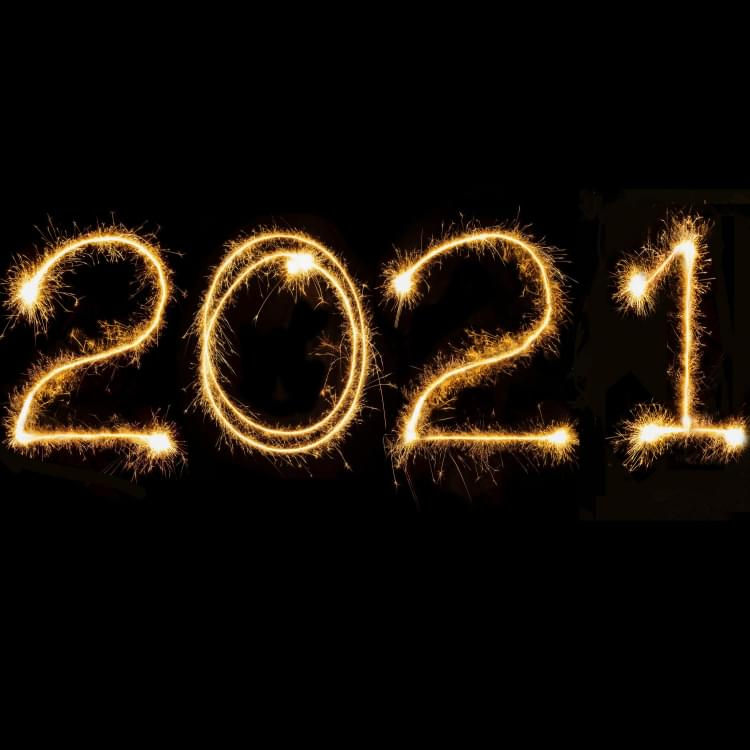 Welcome to 2021!  Happy New Year!