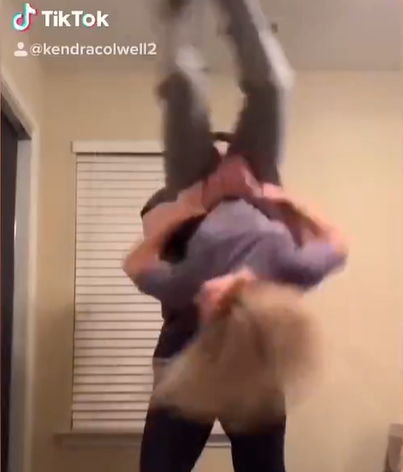 What Not To Do When You Are Practicing Gymnastics In The House