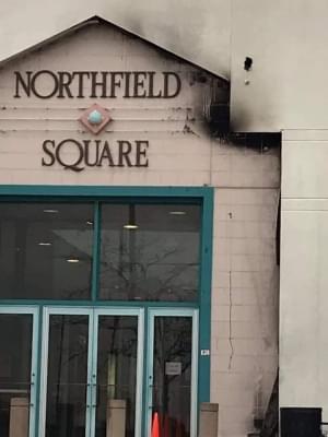 Fire at Northfield Sq. Mall