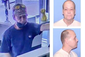 Alleged Bank Robber Arrested