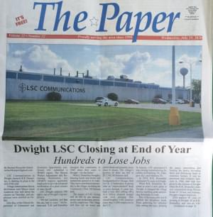 Layoffs Coming in Dwight