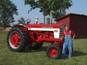 Max Armstrong tractor